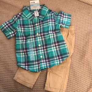 NWT Carters 2-Piece Outfit